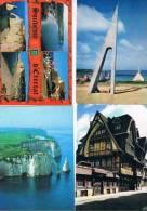 270213I  Lot De 48 CPM/CPSM Couleur Vierges Pour Courrier : Dep.76 Etretat - Cartes Postales