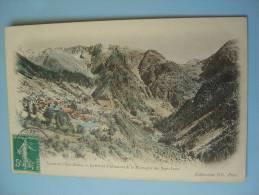 """Cpa 38 -- LE RIVIER D'ALLEMONT -- Vallée De L'Eau Dolle Et La Montagne Des Sept Laux - Carte """"précurseur"""" - Autres Communes"""