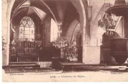 Lardy Intérieur De L'église - Lardy