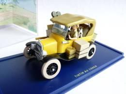 VOITURE TINTIN  ATLAS - Véhicule 03 - Ford T - Tintin Au Congo (2) - Tintin