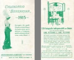 AB31 - CALENDARIETTO 1915 - BERENCINA CHICAGO RARO - 8 Pagine - Calendari