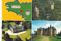21877 Elven Multivues  Tour Tredion Kerfily Chateau -4 Artaud Gabier QQ Bretagne Blason