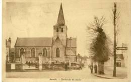 Nevele - Kerkzicht En Markt  -1936  ( Voir Verso ) - Nevele
