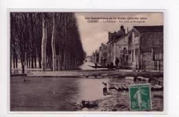 Corbeil, Inondations 1910, La Pêcherie , Vue Prise De Montgardé , éd. Beauregard     ( Port Offert, Free Postage ) - Corbeil Essonnes