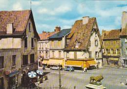 21883 Cusset, Cite Medievale -la Cigogne -bar Taverne Louis XI, Boulangerie H Valade Lion -Mantrant - France