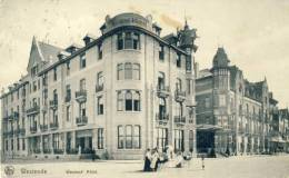 Westende- Westend' Hôtel -1911  ( Voir Verso ) - Westende