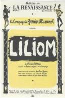 """Théâtre De La Renaissance/ La Compagnie Grenier -Hussenot/ """"LILIOM""""/MOLNAR/Vers 1950 VP554 - Oude Documenten"""