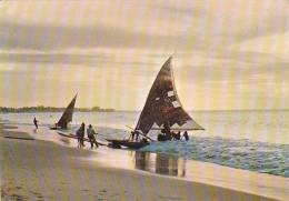 21890 Fortaleza, Brazil, Jangadas Rafts -mercaton Varig