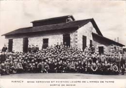 21892 Nancy France Base Aerienne Aviation Legere Armée Terre, Sortie Messe -don Chapelle Aumonier Rousseblot Sedillot