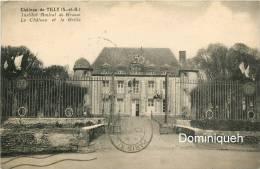 Chateau De Tilly Institut Amiral De Grasse Le Chateau Et La Grille - Autres Communes