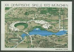 Germany 1972 Olympic Games Munich S/s MNH - Zomer 1972: München