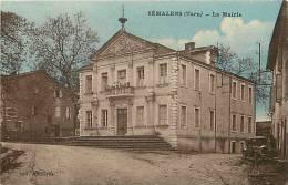 DEPTS DIV- Tarn -ref -F815- Semalens - La Mairie - Carte Bon Etat - - Other Municipalities