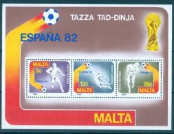 Malta 1982 Soccer World Cup MNH** - Lot. A222 - Malte