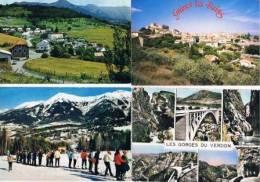 270213P  Lot De 64 CPM/CPSM Couleur  : Dep.04 Alpes De Provence - Cartes Postales