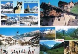 270213Q  Lot De 88 CPM/CPSM Couleur  : Dep.05 Hautes Alpes - Cartes Postales