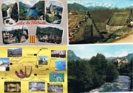 270213U  Lot De 83 CPM/CPSM Couleur Vierges Pour Courrier : Dep.09  Ariège - Cartes Postales