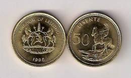 Lesotho 50 Lisente 1998. UNC - Lesotho