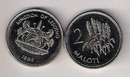 Lesotho 2 Maloti 1998. UNC - Lesotho