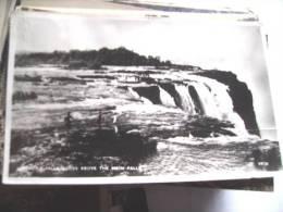 Afrika Africa Zimbabwe Victoria Falls Main Falls And People - Zimbabwe