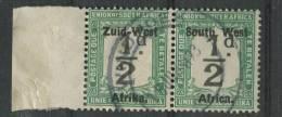 Südwestafrika Portomarke 15-16 O Waagrechtes Paar (b06dx) - South West Africa (1923-1990)