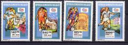 Malagasy Madagascar 1992 Football Soccer World Cup Set Of 4 MNH - World Cup