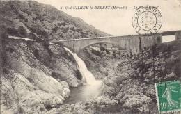 SAINT GUILHEM LE DESERT  LE PONT CANAL  BEL ETAT - France