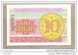 Kazakistan - Banconota Non Circolata Da 10 Tiyn - 1993 - - Kazakistan