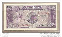 Sudan - Banconota Non Circolata Da 25 Piastre P-37 - 1987 - Soudan
