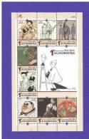 Portugal 2012 Mi.Nr. 3790 / 97 , HUMORISTAS - Kleinbogen - Postfrisch / MNH / Mint (**) - 1910-... République