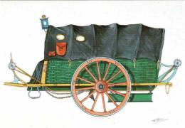 """CPM 68 (Haut-Rhin) Riquewihr, Musée D'histoire Des P.T.T. D'Alsace - Malle Poste Dite, """"Malle-panier"""" (1793), Par Bruckm - Postal Services"""