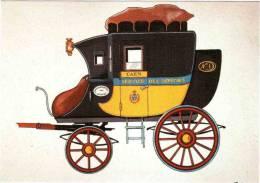 CPM 68 (Haut-Rhin) Riquewihr, Musée D'histoire Des P.T.T. D'Alsace - Malle Poste 1818, Courrier Coffre Arrièr, Par Bruck - Postal Services