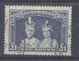 AUSTRALIE - 1937/38  -  RARE N° 122 - OBLITERE - B  - - 1937-52 George VI
