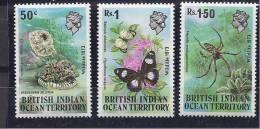 BritishIndianOceanTerritory1973: Michel54-6mnh** Cat.Value 17+Euros - British Indian Ocean Territory (BIOT)