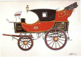 """CPM 68 (Haut-Rhin) Riquewihr, Musée D'histoire Des P.T.T. D'Alsace - Malle Poste """"Briska"""" 1873, Par Bruckmann - Poste & Facteurs"""