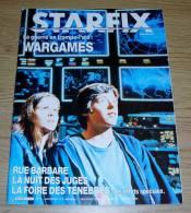 Starfix 11 Janvier 1984 Wargames La Nuit Des Juges La Foire Des Ténèbres Couverture Matthew Broderick - Cinéma