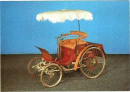 CPM 68 (Haut-Rhin) Mulhouse, Musée De L'automobile - Benz 2 Places Type Vélo Avec Parasol 1898 - Sin Clasificación