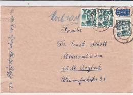 12.10.47 BESSERE MeF. Speyer/St. Ingbert. MK - French Zone