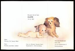 Geboorte Mededeling - Faire-part De Naissance - Claire. - Birth & Baptism