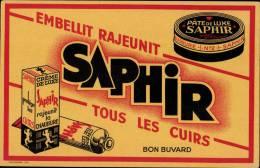 """MENU PUBLICITAIRE """" SAPHIR - Autres"""