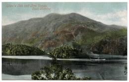 ELLEN'S ISLE AND BEN VENUE, LOCH KATRINE - Stirlingshire