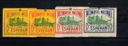 UDINE 1929 14° CONGRESSO NAZIONALE D´ESPERANTO - Cinderellas
