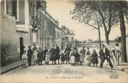 94 SUCY EN BRIE RUE DE LA RECETTE  GROSSE ANIMATION - Sucy En Brie