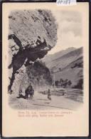 Caucase : Route Militaire Géorgienne ; Rocher En Surplomb Près De Ananour - Vers 1904 (11´187) - Russie