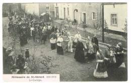"""Postkaart / Carte Postale """"St Gérard - Millénaire De St Gérard - Le Cortège"""" - Mettet"""