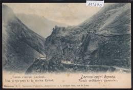 Caucase : Route Militaire Géorgienne : Partie Près De La Station Kasbek - Vers 1904 (11´190) - Russie