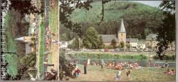 La Semois-Carnet De 10 Vues Doubles (Florenville Chiny Poupehan Vresse Alle Bohan Herbeumont  Bouillon Frahan ) - Cartes Postales