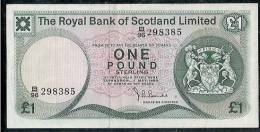 ECOSSE - 1 POUND- THE ROYAL  BANK OF SCOTLAND - 01/05/1980 - 1 Pond