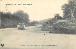 Circuit D'Auvergne - Virage à L'embranchement De La Route De PONTAUMUR - Non Classificati