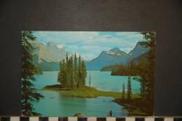 CANADA   ; The Narrows, Maligne Lake, Jasper National Park, Alberta, Canada, - Jasper