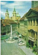 SLOVENIE - LJUBLJANA -  Mestni Trg -  Cpm Format 10,5  X  15 - Non Circulée - Avec Timbre Neuf -scans Recto Verso - Slovénie